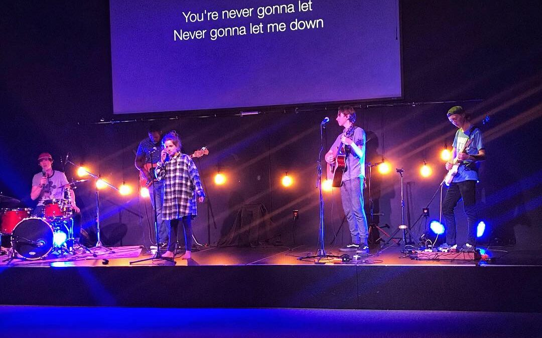 Siblings Day 2019, and Sadie and JM Led Worship Together